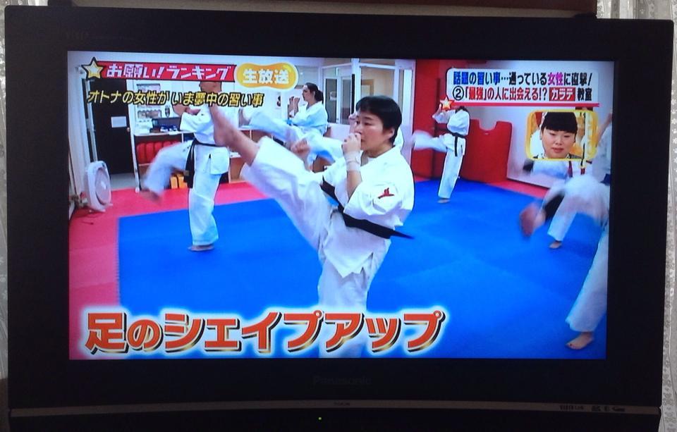 大嶋利佳 空手テレビ